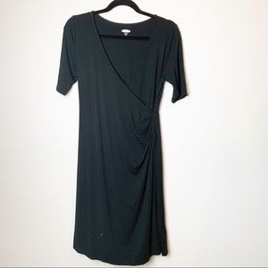 NWOT Old Navy Fitted Maternity Faux Wrap Dress S